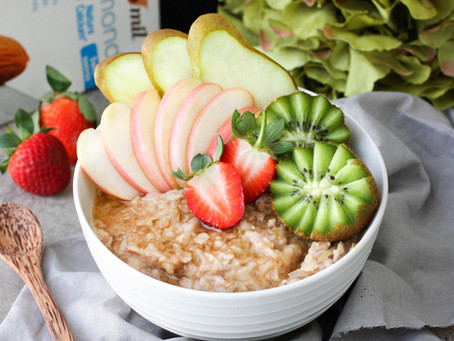 Pear and Apple Pie Oats