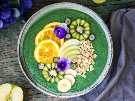 Spirulina Protein Smoothie Bowl