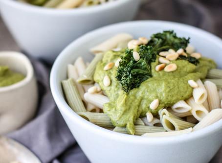 Creamy Kale and Leek Pasta Sauce