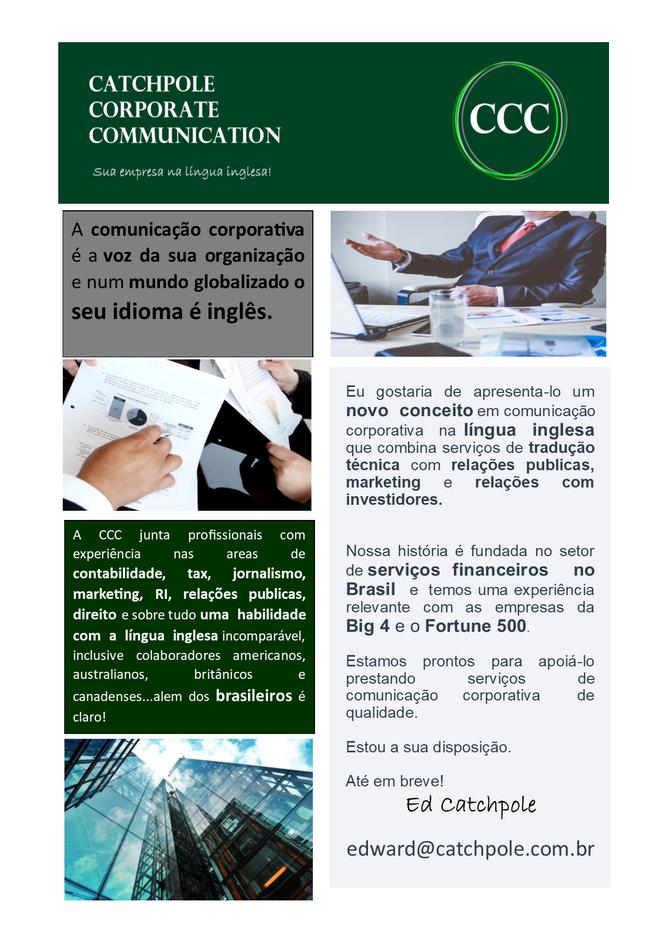 Catchpole Corporate Communication