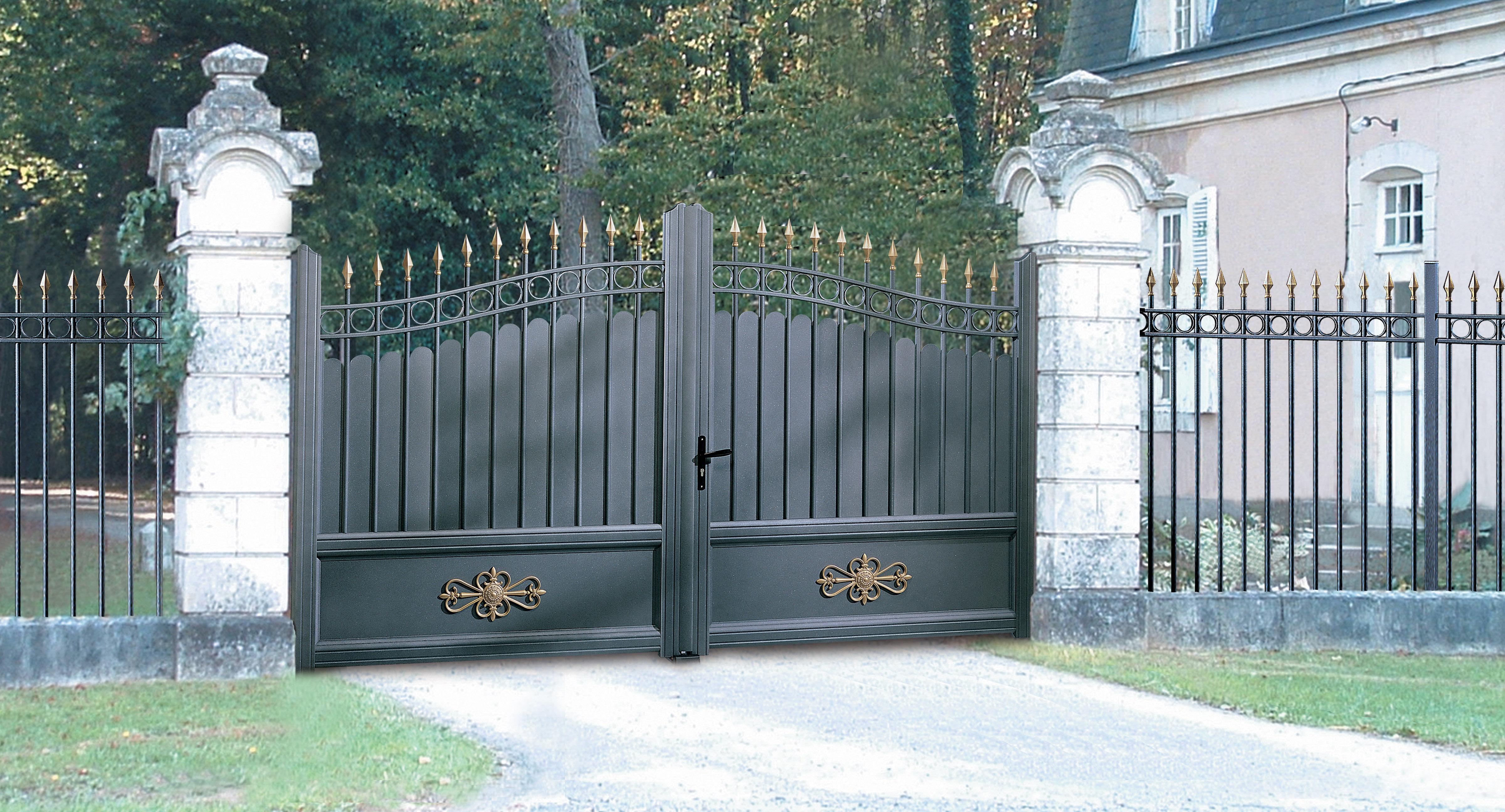 Portail Aluminium Classique