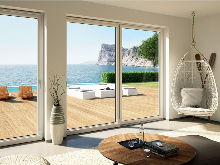 Porte fenêtre coulissante