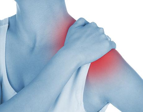 sore shoulder, shown red, keep handed, i