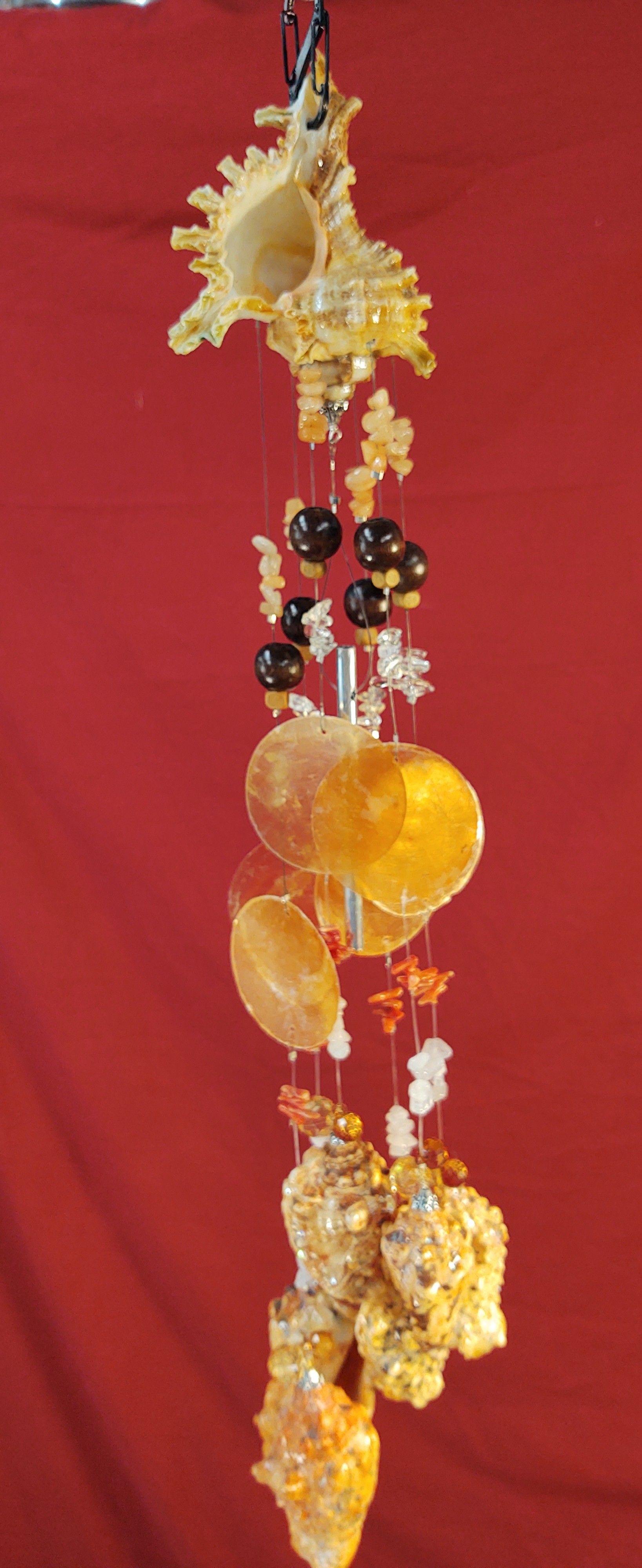 #137  3x21 150z  Orange Spinny Conh with