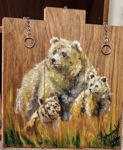 Mama Bear and twins