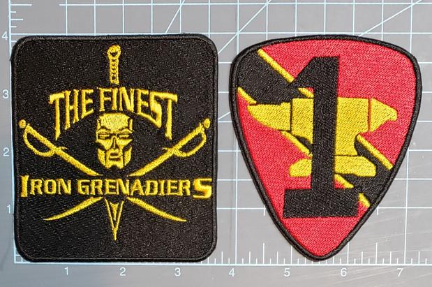 """The Finest GI Joe Costume Club Iron Grenadier detachment """"Destro's Anvil"""""""
