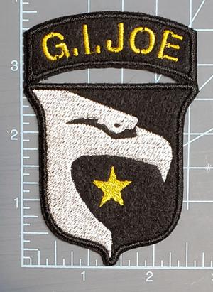 WW2 Gi Joe on felt
