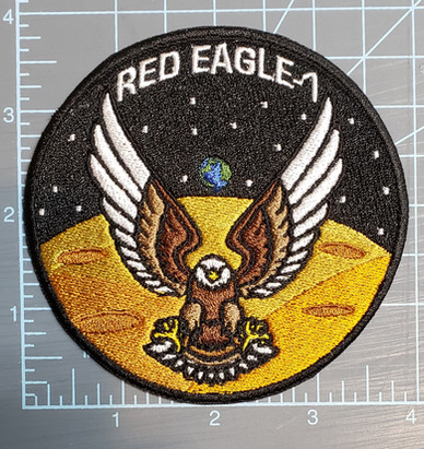 "Kaotica Studios ""Red Eagle-1"" patch (NFS).  Look for the film in 2020!"