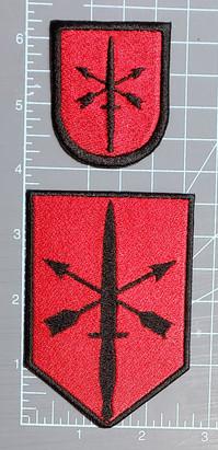 Sunbow Flint Unit and beret patches