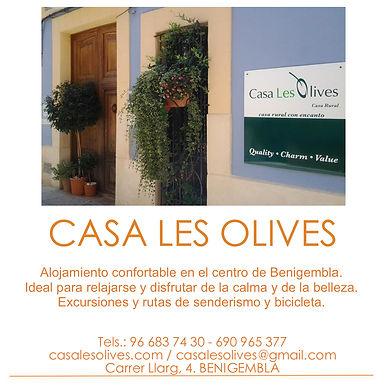 CASA RURAL LES OLIVES