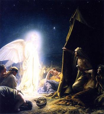 HYMN 276 God's Glory Shone in Starry Fields/Hark, the Herald Angels Sing