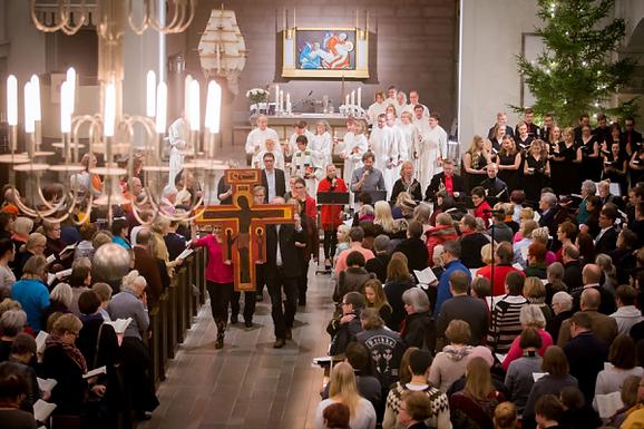HYMN 315 Your Kingdom come O Father/Thomas Mass/Finnish gospel
