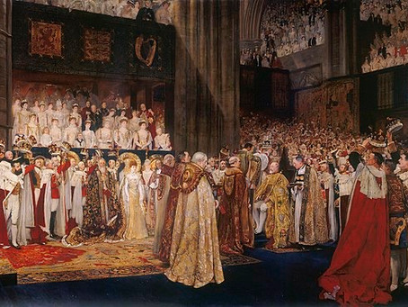 HYMN 191 I Was Glad/Coronation anthem For King Edward VII, George V, George VI, Queen Elizabeth II