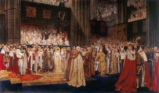 HYMN 191 I Was Glad/Coronation anthem For King Edward VII, George V, George VI, Queen Elizabeth II