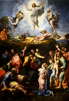 HYMN 325 Transfiguration Wreathed in Bright Divinity/The Light Shines Through the Darkness