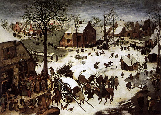 HYMN 264 In the bleak Midwinter/Here we come a-Wassailing