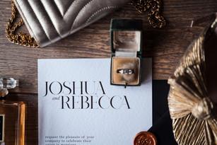 Josh & Becca Wedding Stationery