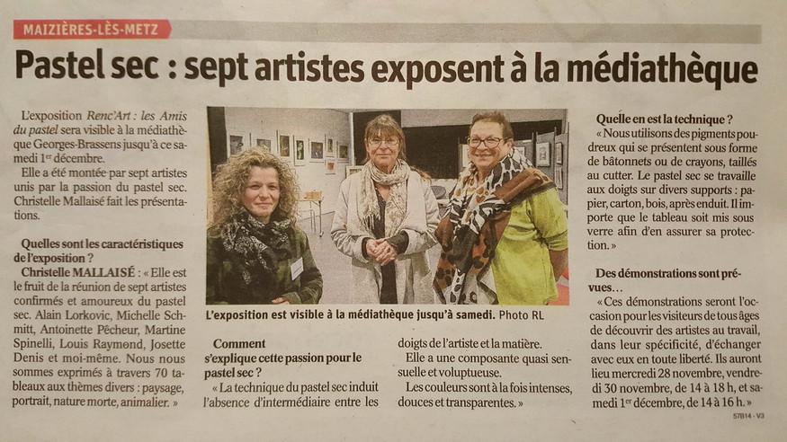 Médiathèque Maizières-les-Metz novembre 2018