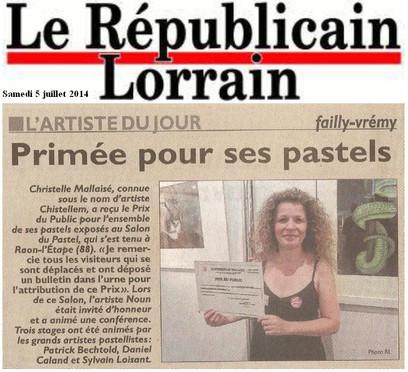 Salon pastel Raon l'Etape (88)