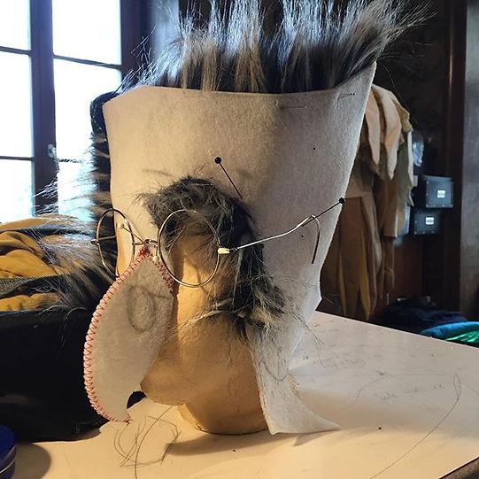 #theaterimpaul#costumemaking #maskmaking