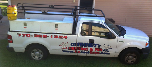 Gwinnett Heating & Air Truck