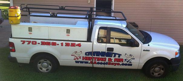Gwinnett Heating & Air Truck