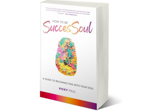 New Title! Vicky Paul Publishes 'How to be SuccesSoul' with That Guy's House!