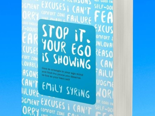 New Title! Emily Syring Publishes 'Stop It, Your Ego is Showing' with That Guy's House!