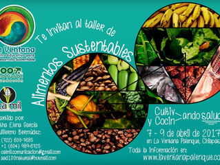 Taller Alimentos Sustentables: Cultivando y Cocinando Salud