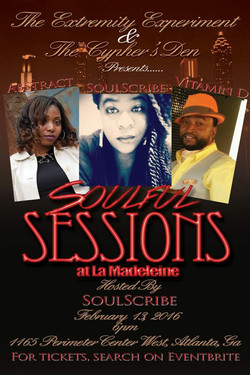 Soulful Sessions Spoken Word Valentines Day Event