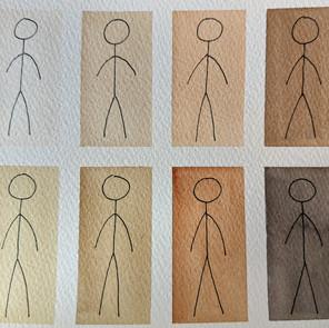 Do Stick Figures Have Skin?