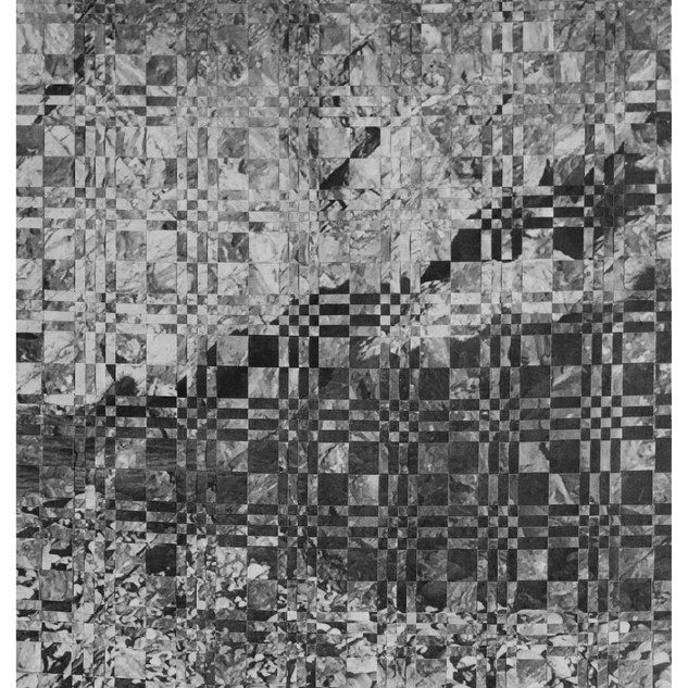 Untitled 1 (paper weaving)