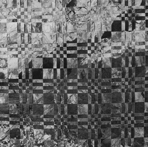 Untitled 1 (paper weaving) (detail)