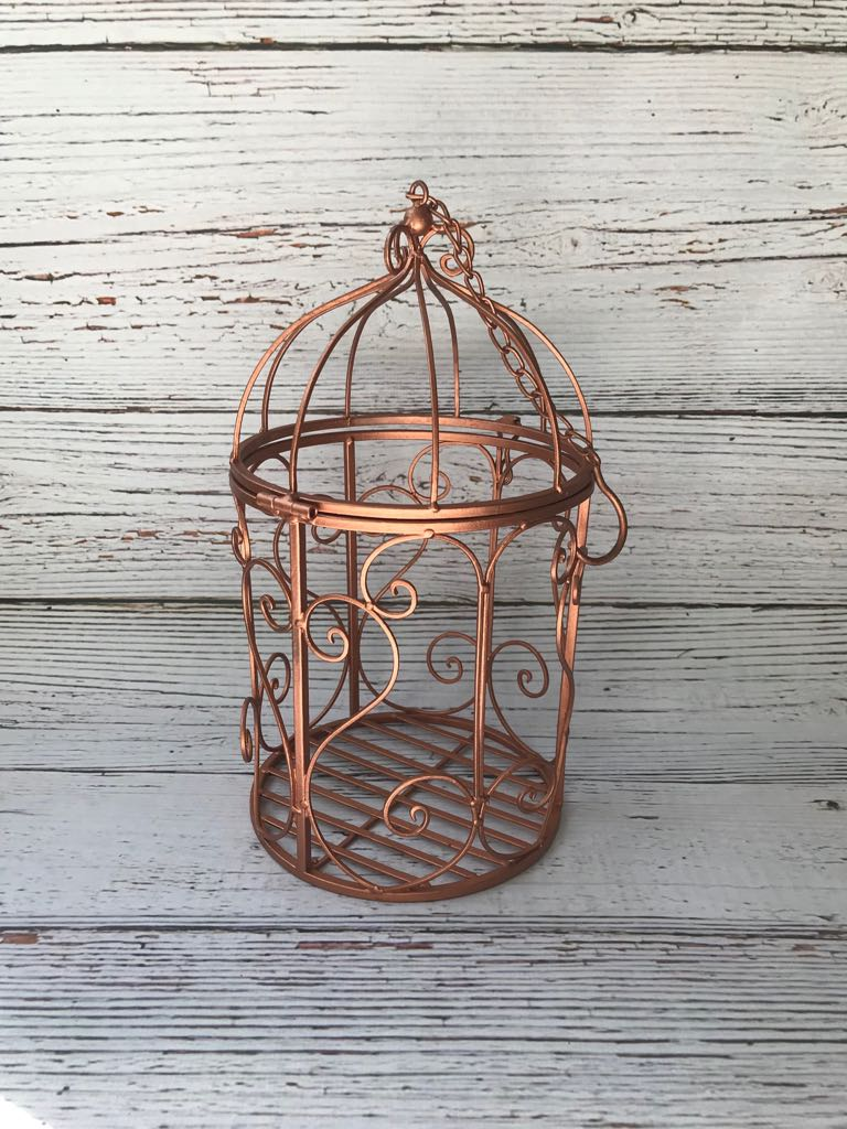Rose Gold Birdcage