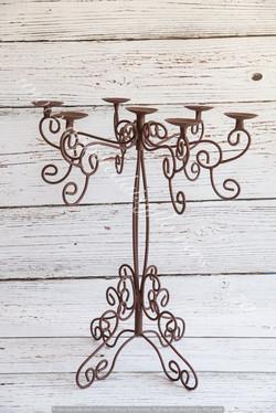 Twirly candelabra