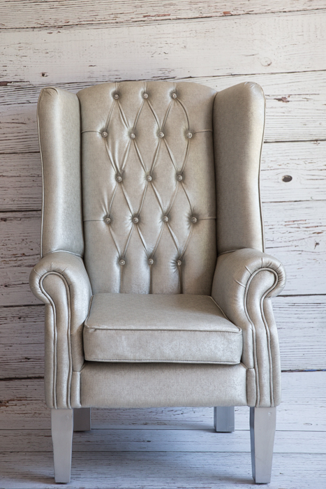 Bride & Groom Chair (Silver)