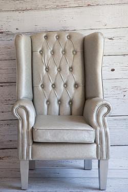 Bride & Groom Chair (Silver)