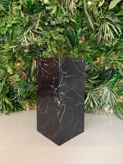 Black Marble Plinth