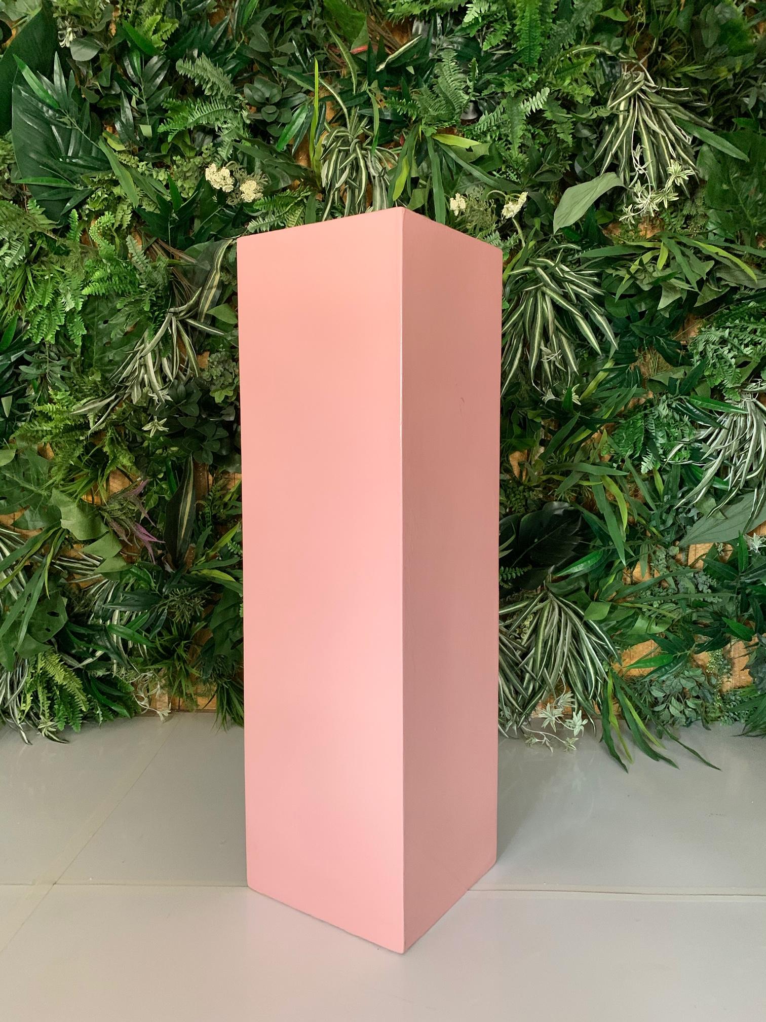 Pink Marble Plinth