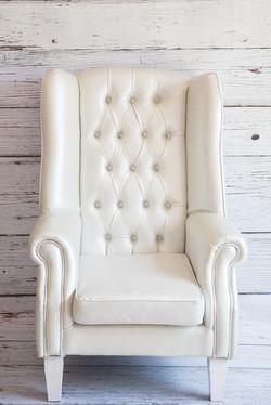 Bride & Groom Chair White