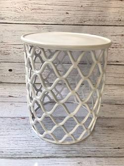 Side Table Diamond White