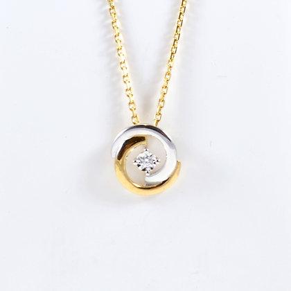 9ct Diamond Two-Tone (0.015)