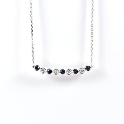 9ct Diamond Sapphire (0.02)