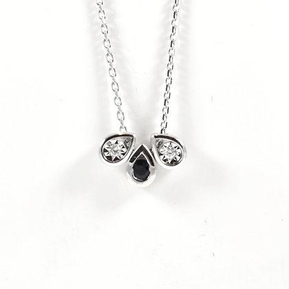 9ct Sapphire Diamond (0.02)