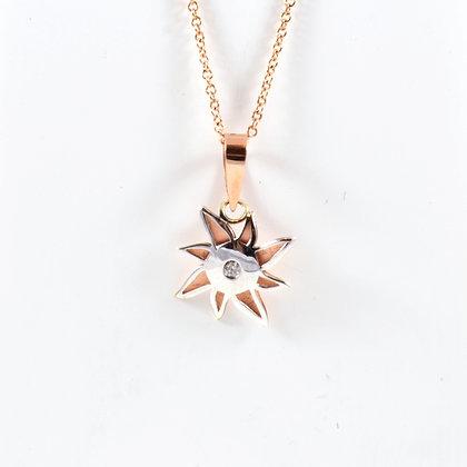 9ct Rose Diamond (0.015)