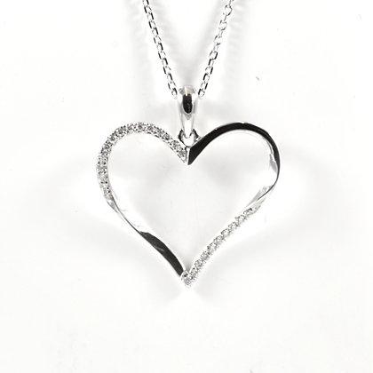 9ct Diamond Heart (0.05)