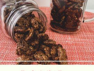 Candied Pecans Two Ways 2.04 Road Trip to Harvard