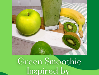 """Green Smoothie """"Salad Water"""" 3.04 One's Got Class and the Other One Dyes"""