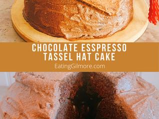 21) Chocolate Espresso Tassel Hat Cake 2.21 Lorelai's Graduation Day