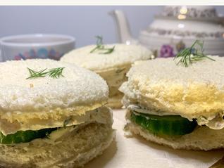 Afternoon Tea Cucumber Sandwiches 1.18 The Third Lorelai